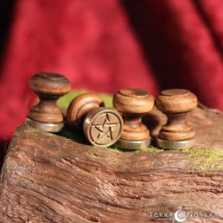 """Pentacle"" wax seal"
