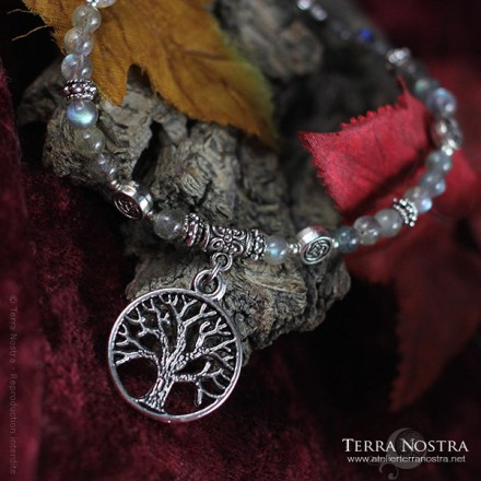 """Celtic winter"" bracelet"
