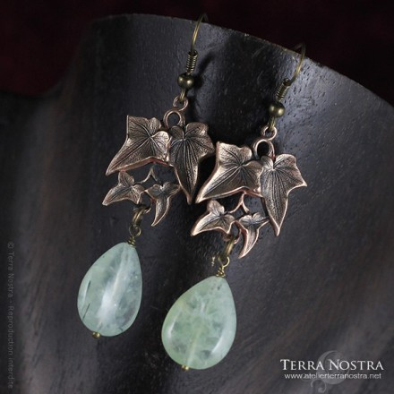 "Boucles d'oreilles ""In the Grove"""