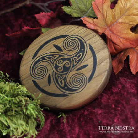 "Mini plaque d'Autel ""Celtic Mist"""